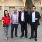 القاضي منصور يترك المحامي فصاعي